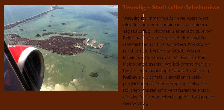 Venedig Vortrag